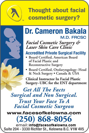 Dr. Bakala yellow pages ad